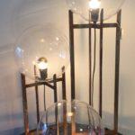 Intter, verlichting, lights, gerecycleerde materialen, spiegellamp, tafellamp, staande lamp