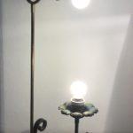 verlichting gerecycleerde materialen, gerecycleerd metaal, bloem van poutrel, Intter,