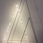 Intter, kerstbomen, kerstversiering, metaal, gerecycleerd