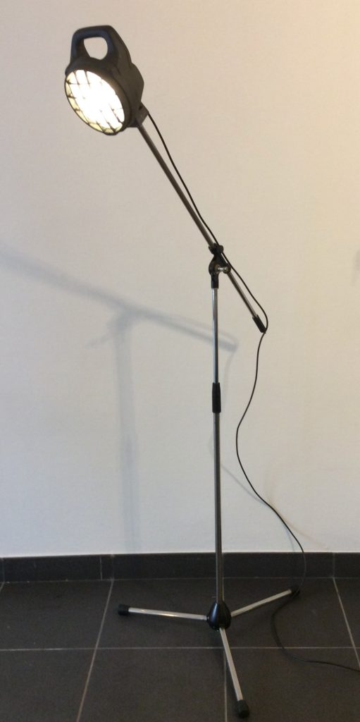 lamp op microstatief    €172