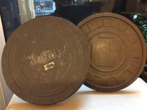 INTTER oude filmblikken, Kodak film, blik, recyclage, filmliefhebber, filmverzamelaar, gerecycleerde voorwerpen