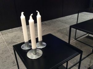 INTTER, kandelaar, candle, gerecycleerde materialen, gerecycleerd metaal, recycle metal, custommade design, gerecycleerd design