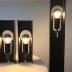 Intter verlichting custommade, op maat gemaakt, LED verlichting, metalen poutrel, design, metaldesign, poutrelle