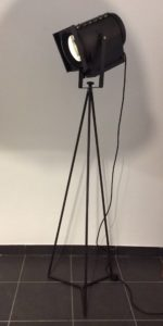 Intter, theaterspot, theaterlamp, gerecycleerde materialen, verlichting, design