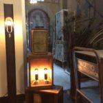 Intter, decoratie, gerecycleerd, vintage, interieur