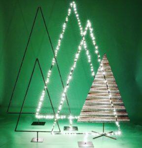 Intter, kerstboom, christmas, kerst, kerstversiering, metalen decoratie, versiering