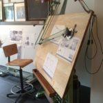 antieke tekentafel    €385