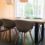 INTTER tafel maatwerk met HAY AAC23