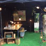 Intter, markt, eigenmaak, handgemaakt, compositie, recycle, gerecycleerd, setup