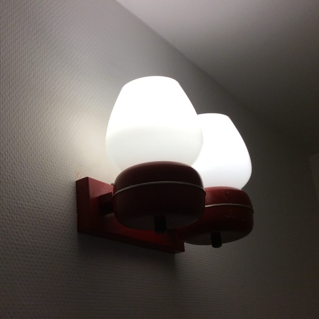 Intter, vintage, wandlamp, led, verlichting, recyclage,